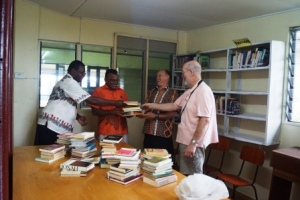 This year, theological books are gifted to this Church by the Golden Oldies