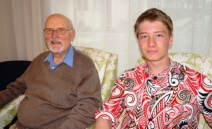Geoffrey and Jordan, reflecting the inter-generational support for Golden Oldies