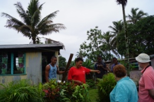 """""""Our house and family have no future here, but our hope is in God alone"""" Denise."""