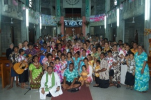 'Bula' service at the Anglican Cathedral in Suva