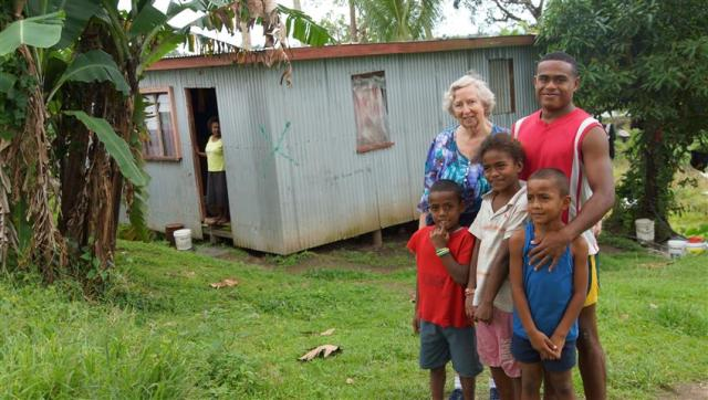 The family about to be evicted from their home