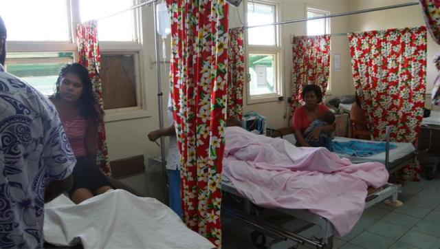 The newly established Accident and Emergency ward where Adele has been working
