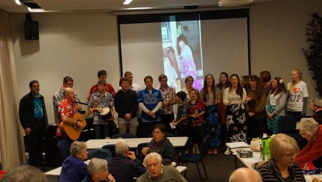 The recent Fiji Youth Missions team came and supported the fundraising efforts for Fiji missions