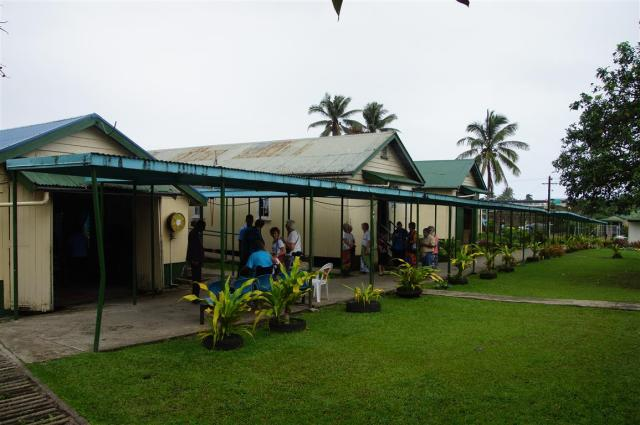The WW2 barracks provide home for Fiji's elderly
