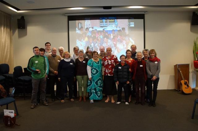Golden Oldies 2015 Team Members, based in Christchurch