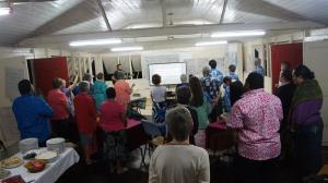 Praise and worship at St Lukes