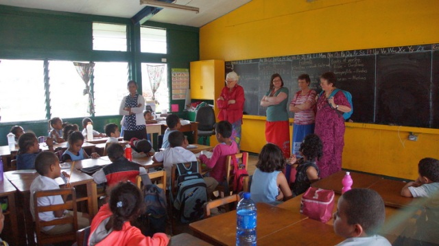 school classroom small