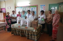 The donated gifts provided to the medical staff