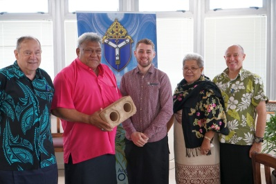 The Anglican Archbishop for Polynesia supportive of the venture